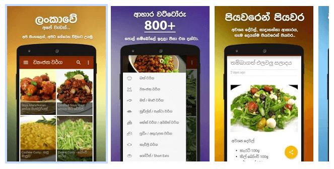 Sinhala Recipes